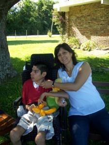 Federico y su madre