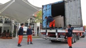 Container nr 50 åpnes i Uruguay