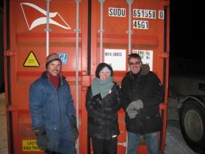 Store smil på Bjarne, Marianne og Carlos, fordi jobben er gjort!