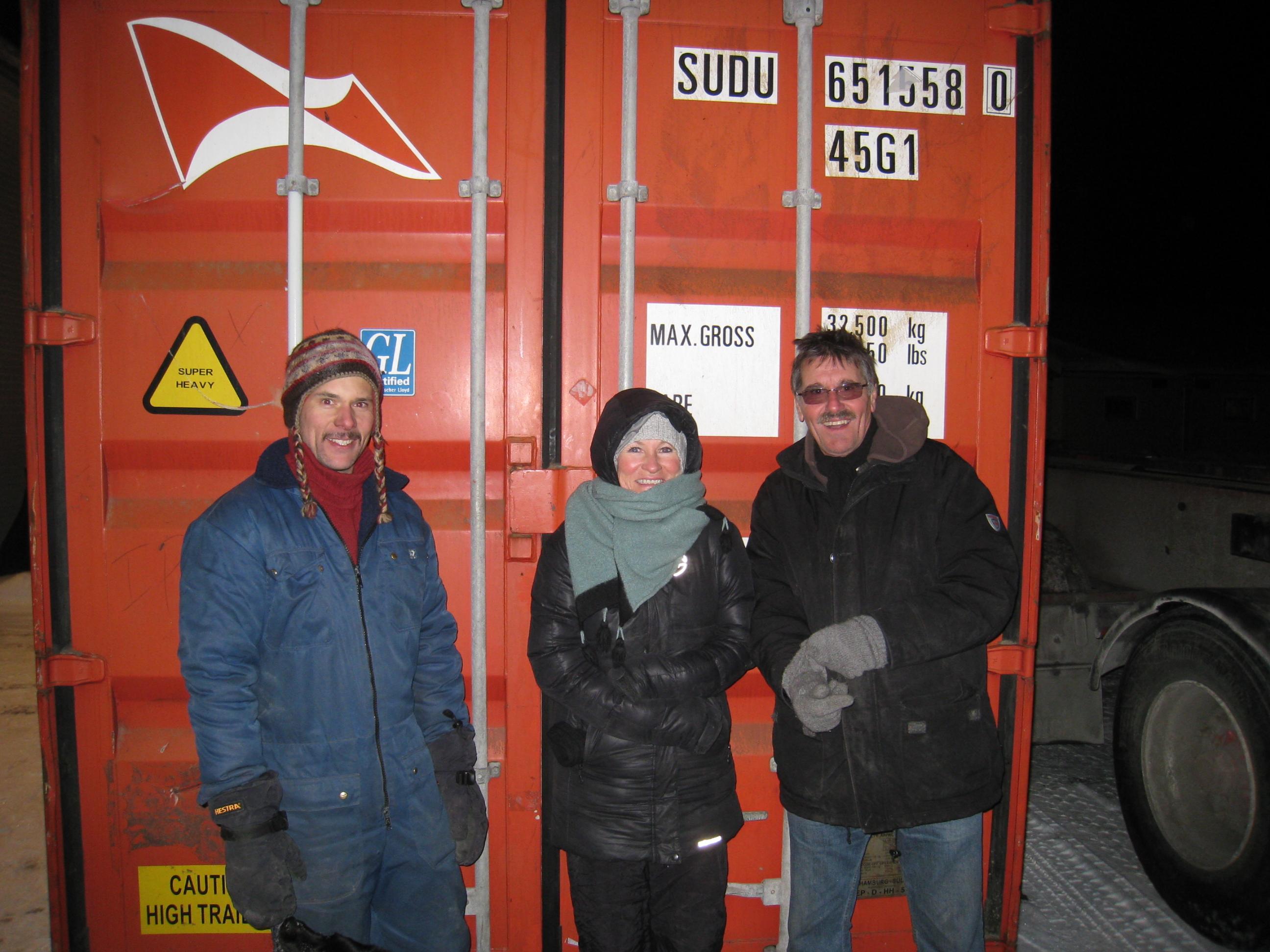 Store smil på Bjarne, Marianne og Carlos fordi jobben er gjort!