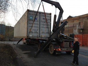 Container nr 60 hentes
