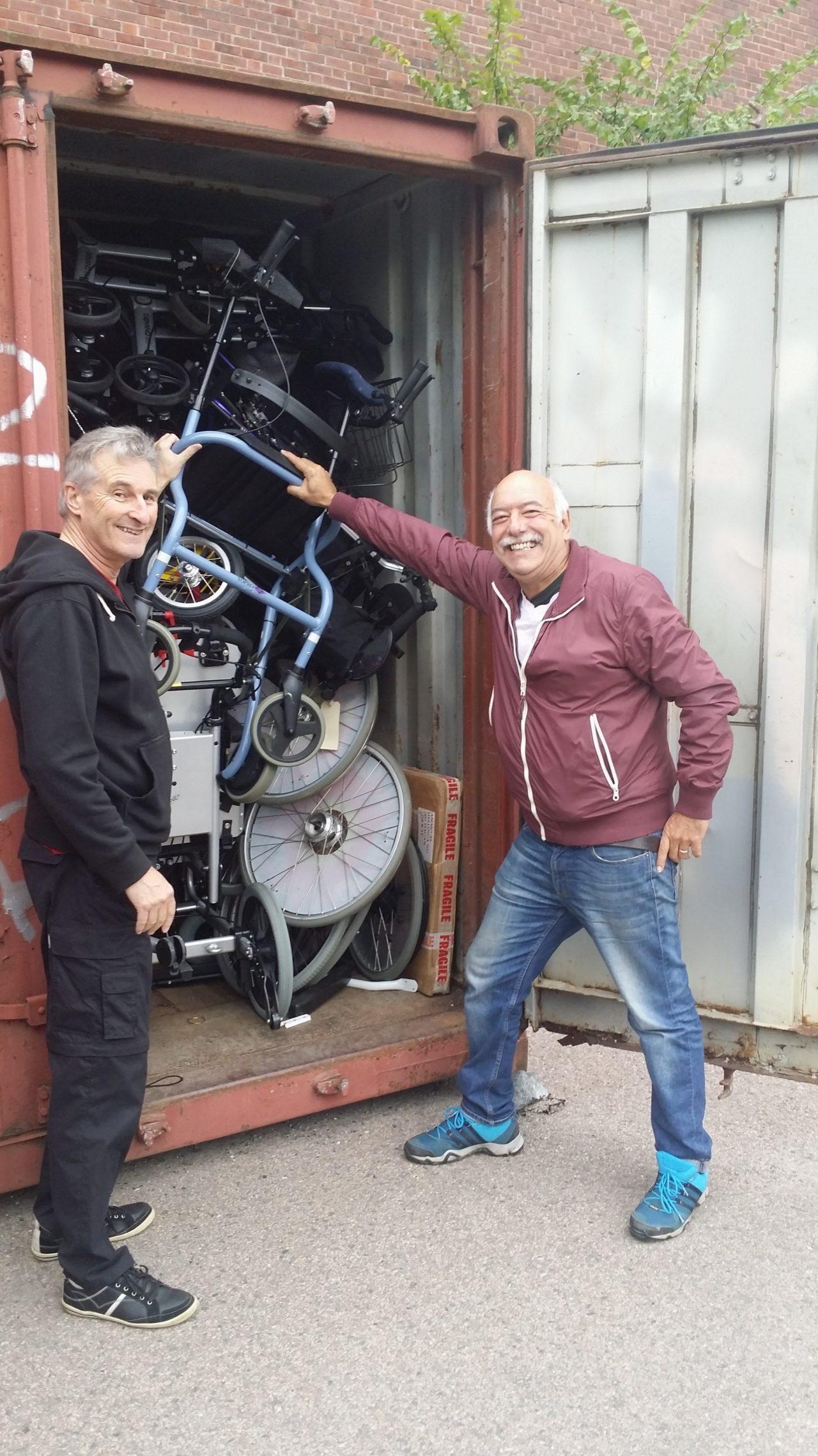 Hugo Klappenbach og Daniel Marrero, to uruguayanere i Sverige som kom og bidro