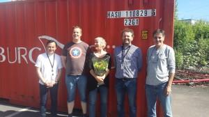 Vi takker ledergruppen på hjelpemiddelsentralen som har hjulpet oss i mange år