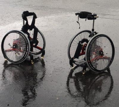 Utstyr i pøsregn