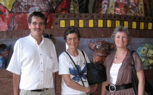 Carlos Caballero, Elsbet Nielsen og Marianne Irgens Hagen