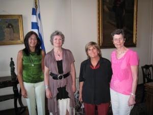 Besøk hos varaordfører Hyara Rodriguez i Montevideo