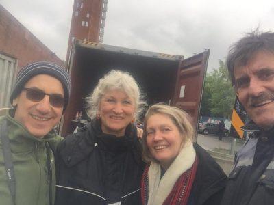 Besøk av filmregissør J.P.Charlo fra Uruguay